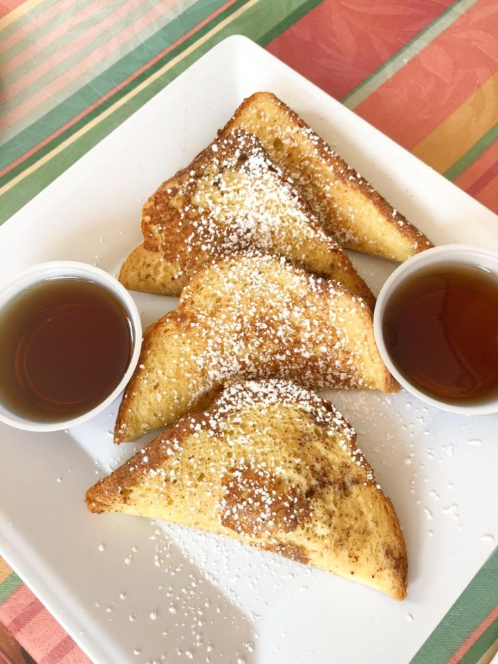 Fabulous French Toast at Camille's