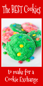 M&M Crinkle Christmas Cookies Pin Image Best Cookies to make with kids