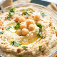 Easy Homemade Almond Hummus