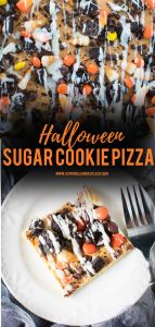 Halloween Sugar Cookie Pizza Pin Image