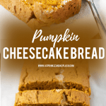 Pumpkin Cheesecake Bread Pin Image