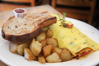Salish Salmon Omelette