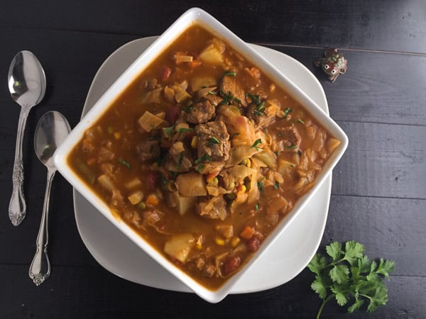 'Momma' Vegetable Beef Soup