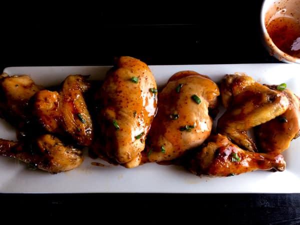 Creole Honey Mustard Glazed Chicken