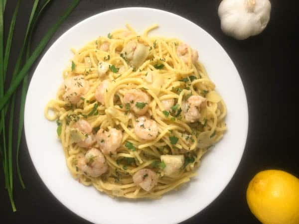 Yummy 30-minute Gluten Free Shrimp Scampi Pasta from A Sprinkling of Cayenne   https://asprinklingofcayenne.com