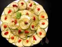 Cajun Marinated Cucumber Salad. | https://asprinklingofcayenne.com