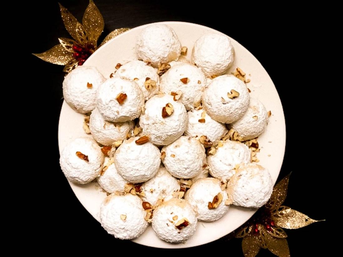 Gluten Free Louisiana Pecan Balls A Sprinkling Of Cayenne