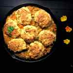 Cornbread Biscuit Topped Gluten Free Chicken Pot Pie. | https://asprinklingofcayenne.com
