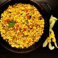 Spicy Skillet Corn Maque Choux Recipe