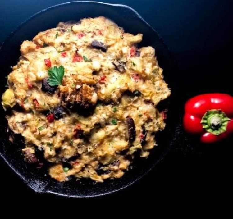 Gluten Free Crab, Artichoke and Potato Casserole for Seafood Lent Recipes