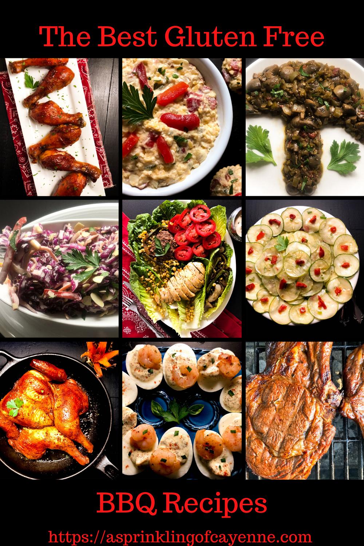 The Best Gluten Free BBQ Recipes Pinterest Pin