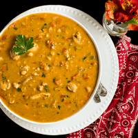 Creole-Style White Chicken Chili Soup