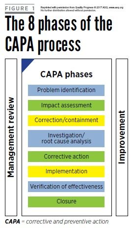 CAPA process, CAPA requests
