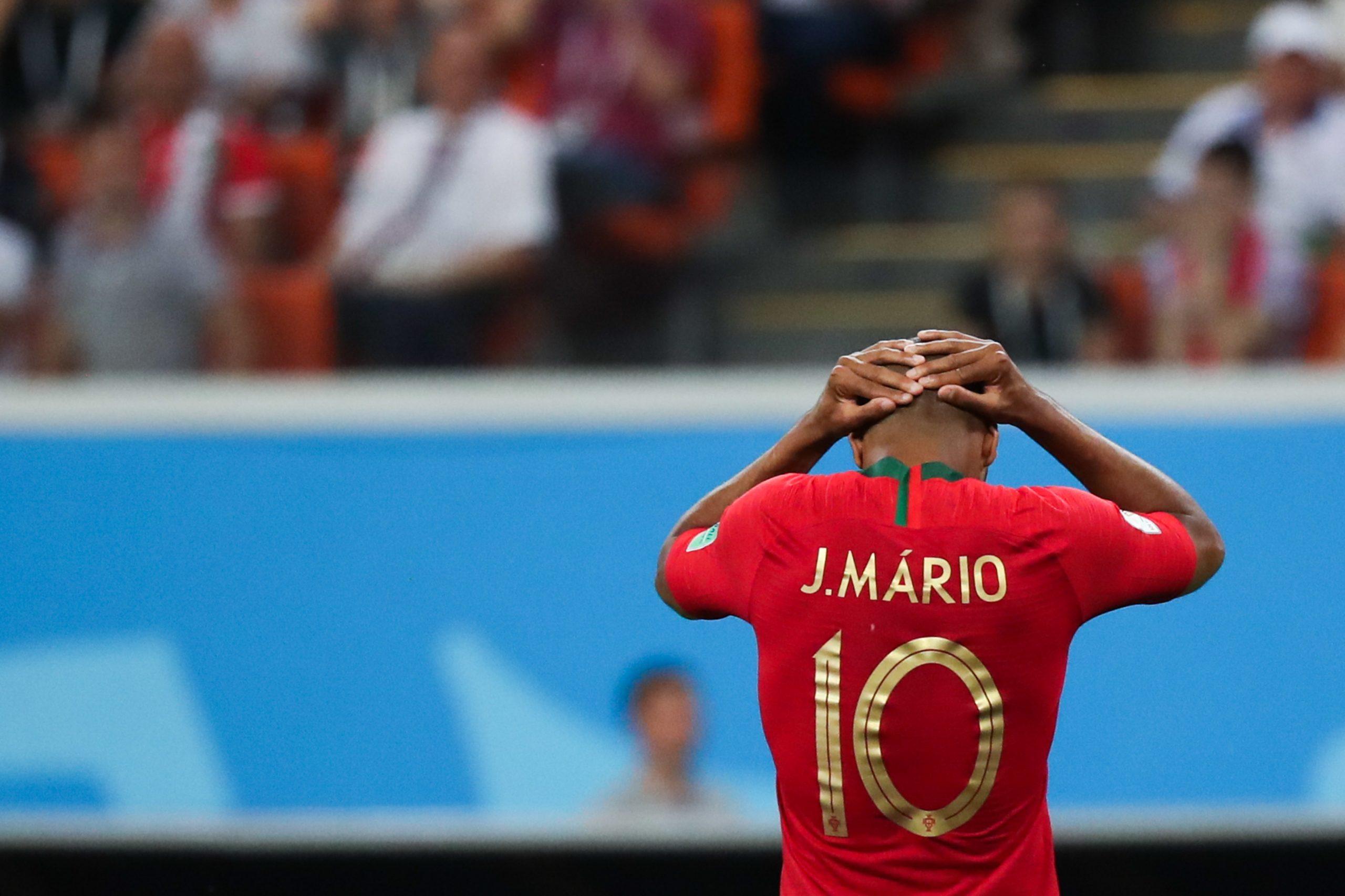 Joao Mario avec le Portugal