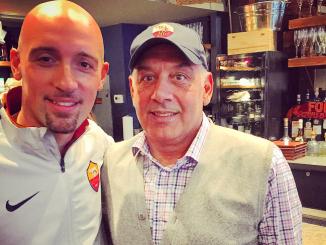 James Pallotta & Stefano Bernardini - Roma Club New York
