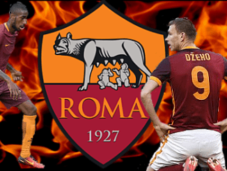 Gerson_Dzeko_Roma_Flames