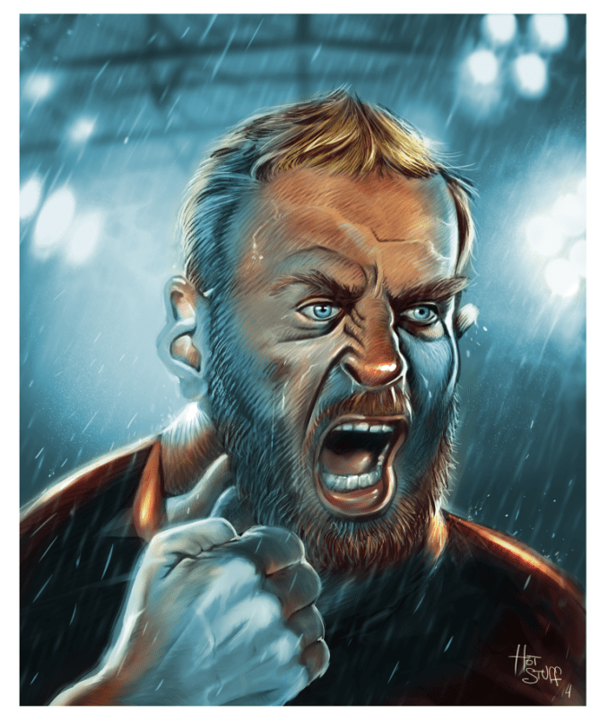 De Rossi cartoon