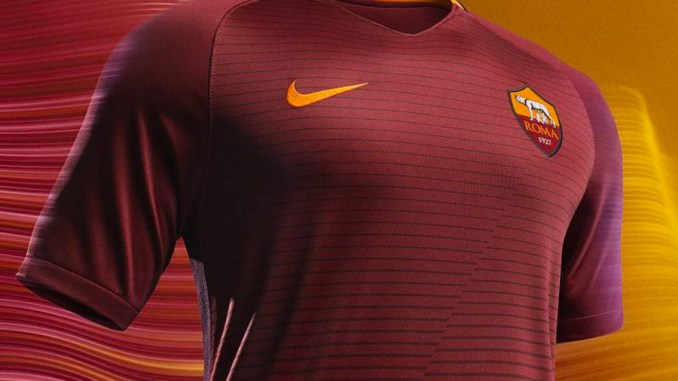 Roma 2016-17 kit