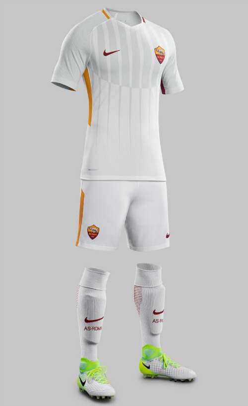 804cba653 Nike unveiled AS Roma s new away kit for the 2017-18 Serie A season.