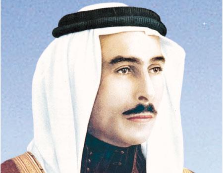 الجمعة الذكرى الخامسة والأربعون لوفاة الملك طلال بن عبدالله السبيل