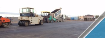 The end of the third part of the asphalt work (13)