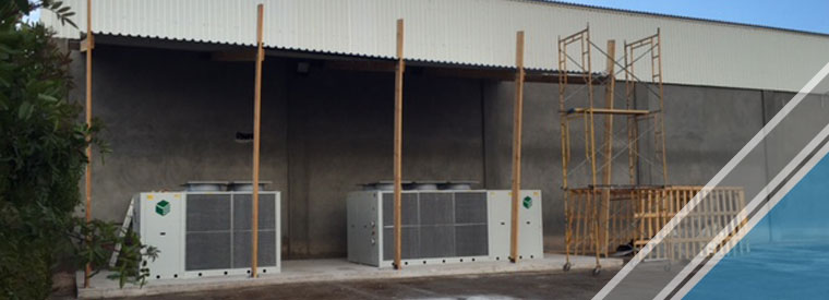 installation of cooling and electricity systems (4)