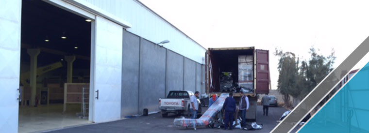 The arrival of last shipment of factory equipments (11)