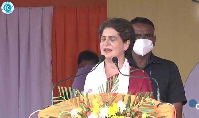 অসমলৈ আজি পুনৰ আহিব প্ৰিয়ংকা গান্ধী