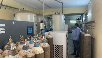 Oxygen plant at GMCH