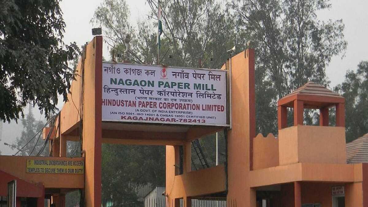 নগাওঁ কাগজ কল