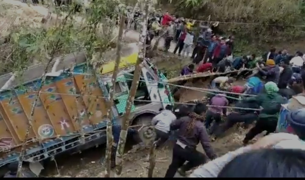 Nagaland village truck video