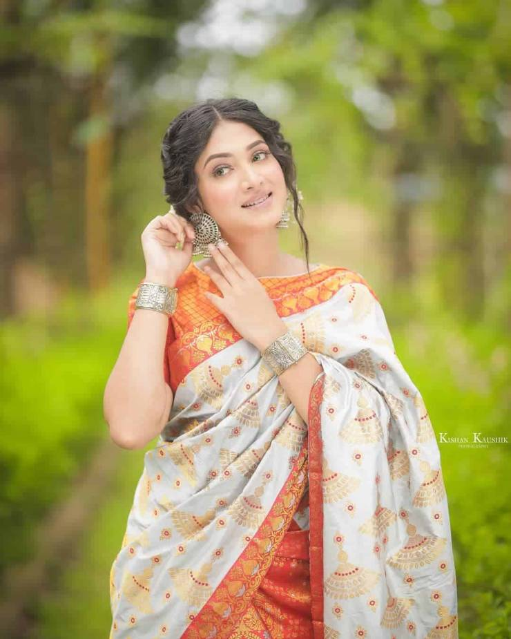 Assamese Actress Priyanka Baishya Photo 5