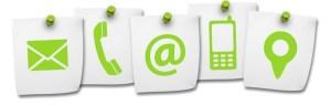 Icon page formulaire de contact