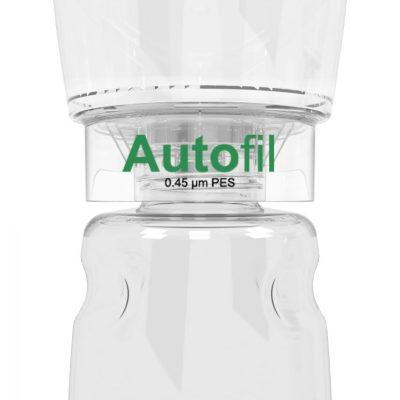 500ml Autofil® .45μm High Flow PES Bottle Top Filter, Full Assembly 12/case