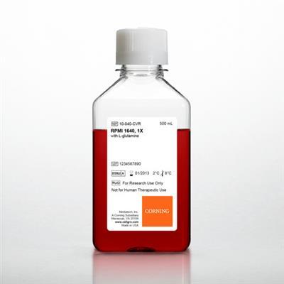 RPMI 1640 w/ L-glutamine, 6 x 500 mL