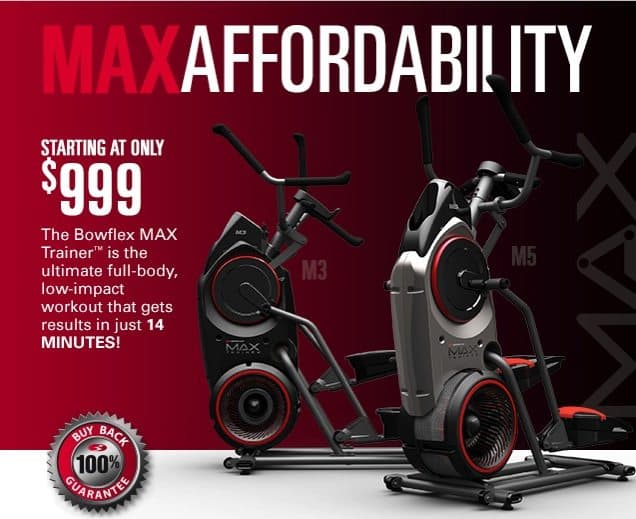 max elliptical trainers