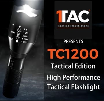 TAC TC1200 Flashlight
