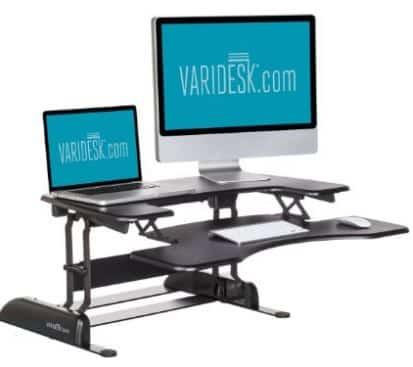 Varidesk Pro Plus 36 Standing Desk Height Adjustable Desk