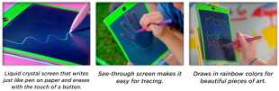 Magic Sketch Fun Boogie Board Doodle, Draw & Sketch!