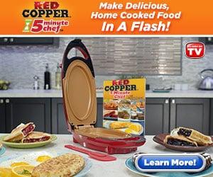 red copper five minute chef