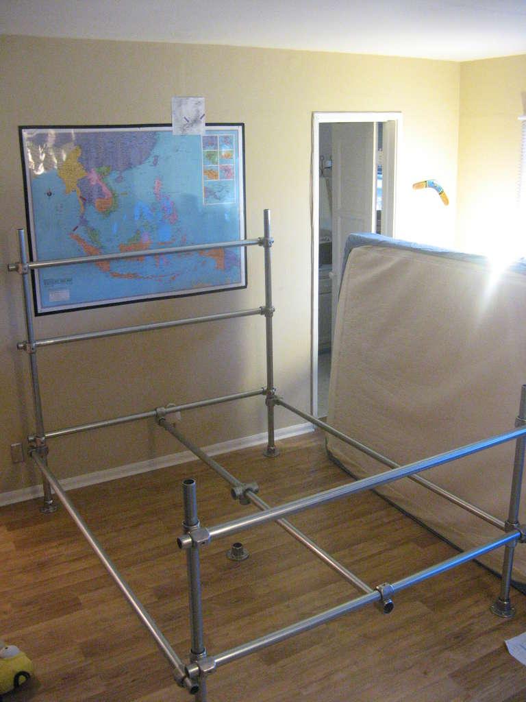 construire le cadre du lit