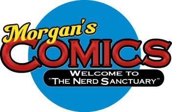Logo for Morgans Comics
