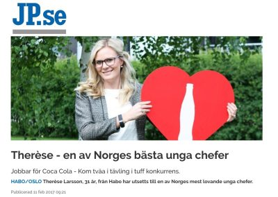 Therèse – en av Norges bästa unga chefer