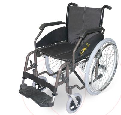sillas de ruedas SOL600