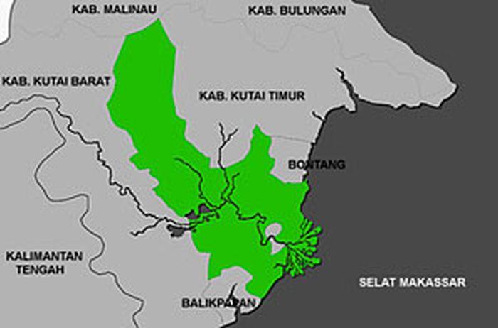 Kutai Kartanegara, salah satu wilayah yang akan jadi ibu kota