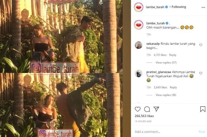 It 's a long time since the rumors of a breakup, Jessica Iskandar who is only wearing a kemben caught in the middle camera of the Beduanan with Richard Kyle who is naked in the bushes