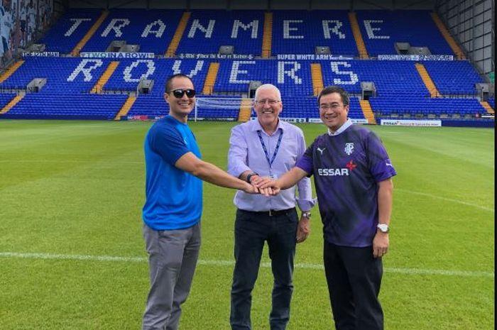 Pihak Tranmere Rovers dan Santini Group mencapai kesepakatan pembelian saham.