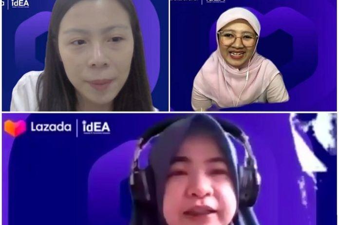Lazada bersama Asosiasi E-commerce Indonesia (iDEA) menggelar webinar berseri dengan topik seputar panduan belanja online.