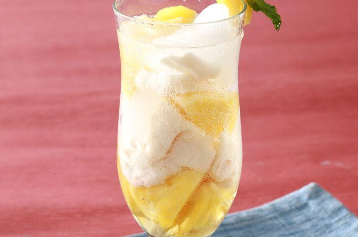 nata de coco nanas