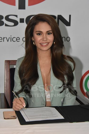 PHOTOS: Ivana Alawi inks contract with ABS-CBN   ABS-CBN Entertainment